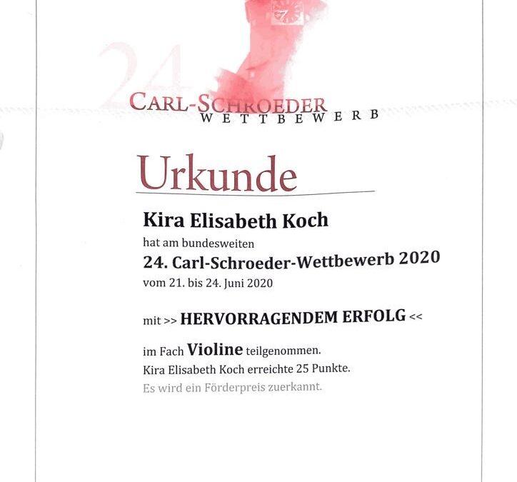 24.Carl-Schroeder-Wettbewerb
